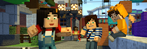 Minecraft: Story Mode per PlayStation 4