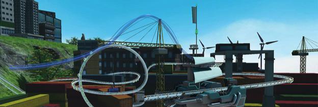 Immagine del gioco RollerCoaster Tycoon Joyride per PlayStation 4