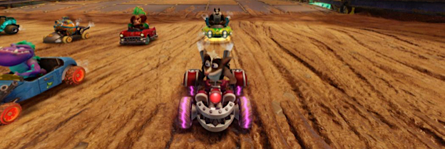 Crash Team Racing Nitro Fueled per PlayStation 4