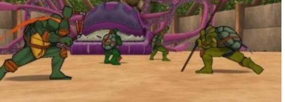 Teenage Mutant Ninja Turtles 2: Battlenexus per PlayStation 2