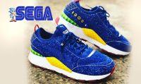 SEGA e PUMA presentano le scarpe a tema Sonic