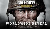 Call of Duty World War II - Il 26 aprile sapremo di più sul nuovo titolo di Activision