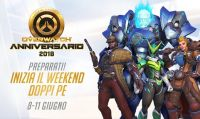 Overwatch regala XP doppi durante il weekend