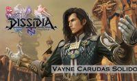 Vayne di Final Fantasy XII entra nell'arena di Dissidia Final Fantasy NT
