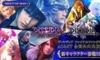 Square Enix svelerà presto un nuovo personaggio di Dissidia Final Fantasy