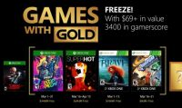 Annunciati i Games with Gold di marzo