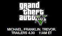 Oggi pomeriggio alle ore 17:00 i nuovi trailer di GTA 5