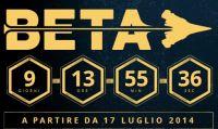 La Beta di Destiny dal 17 luglio