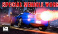 GTA Online – Disponibili ricompense doppie nelle Missioni Veicoli Speciali