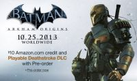 Deathstroke personaggio giocabile in Batman Arkham: Origins