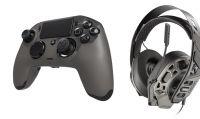 Nacon e Plantronics presentano nuove cuffie e un ''aggiornato'' controller per PS4