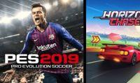 PS Plus di luglio: in arrivo PES 2019 e Horizon Chase Turbo