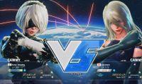 2B e A2 di NieR: Automata si sfidano in Street Fighter V