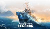 World of Warships: Legends presenta l'aggiornamento di ottobre