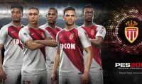 Konami annuncia una partnership con l'AS Monaco