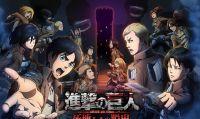 Rilasciate le prime immagini di Attack on Titan per 3DS
