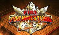 Fire Pro Wrestling World - Ecco la copertina della versione PS4