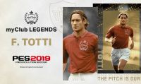 Francesco Totti, Hidetoshi Nakata, Park Ji-Sung e altre leggende in arrivo su PES 2019