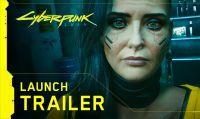 Ecco il trailer di lancio di Cyberpunk 2077