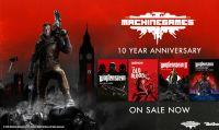MachineGames festeggia il suo 10° anninversario con offerte e bundle speciali