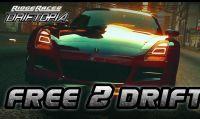 Ridge Racer è tornato e per la prima volta come un gioco free-to-play