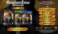 La Royal Edition di Kingdom Come: Deliverance è ora disponibile