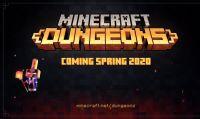 Microsoft E3 2019 - Nuovo gameplay e finestra di lancio per Minecraft Dungeons