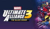 Svelato il peso della versione digitale di Marvel Ultimate Alliance 3: The Black Order