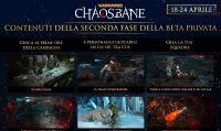 Ha inizio la seconda fase della Closed Beta di Warhammer: Chaosbane