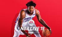 Joel Embiid sarà l'atleta di copertina di NBA Live 19