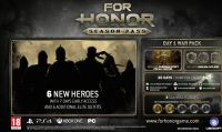 For Honor - Rivelati i contenuti del season-pass