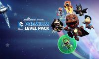 LittleBigPlanet PS Vita: questa settimana il Premium Level Pack DC Comics