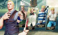 Cody si prepara al debutto in Street Fighter V
