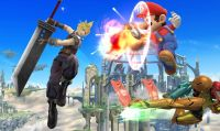 Cloud è pronto a combattere in Super Smash Bros.