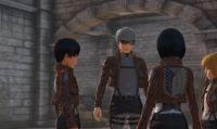 Nuovo spot TV e video gameplay per Attack on Titan 2