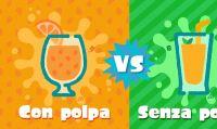 Succo d'arancia con o senza polpa? Schieratevi nel prossimo Splatfest di Splatoon 2