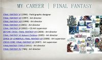 L'art director di Final Fantasy XV lascia Square-Enix