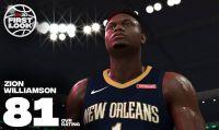 Il rookie Zion Williamson ha firmato un accordo pluriennale con NBA 2K