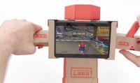 Un nuovo aggiornamento permette di giocare a Mario Kart 8 Deluxe con Nintendo Labo