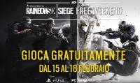 Tom Clancy's Rainbow Six Siege annuncia un weekend di gioco gratuito dal 15 al 18 febbraio