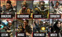 Apex Legends – Presentati dettagli e abilità degli otto protagonisti