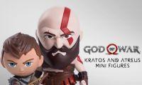 God of War - Disponibili due nuove figures di Kratos e Atreus