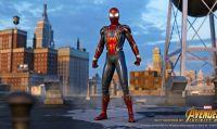 Spider-Man - Presentato ufficialmente il costume di Iron Spider