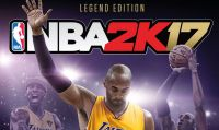 Kobe Bryant nella Legend Edition di NBA 2K17