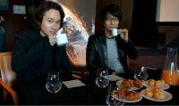 Shinkawa da vita alla fusione tra un EVA e Godzilla