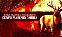 Red Dead Online – Dusponibile la nuova missione di avvistamento - Cervo Maschio Ombra