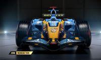 F1 2017 - La Renault R26 del 2006 si aggiunge alle auto ''classiche''