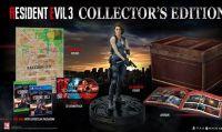 La Collector's Edition di Resident Evil 3 è ora prenotabile