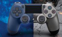 Annunciati due nuovi Dualshock 4 nei colori blu e grigio scuro