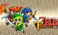 The Legend of Zelda: Tri Force Heroes - 10 minuti di gameplay